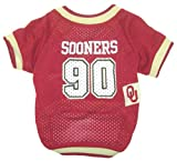 NCAA Dog Jersey, Large, Oklahoma State University Sooners