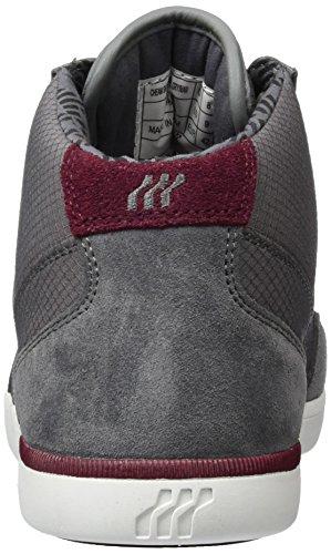 Sde Boxfresh Rip Grey Sh Steel Grigio Uomo Sneaker Nyl Grau Alte Maroon Cheam qwIAwR