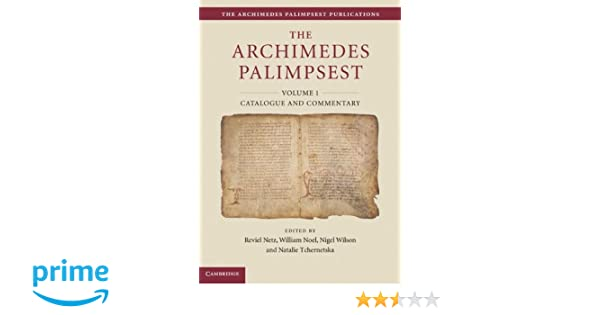 catalogue noel 2018 amazon Amazon.com: The Archimedes Palimpsest 2 Volume Set (The Archimedes  catalogue noel 2018 amazon