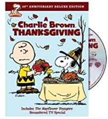 A Charlie Brown Thanksgiving 40th Anniversary Deluxe Edition (DVD)Turkey, cranberries, pumpkin pie…and the Peanuts gang to share them with. This is going to be the greatest Thanksgiving ever! The fun begins when Peppermint Patty invites herse...