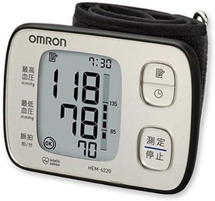 オムロン血圧計手首式HEM-6220-SL