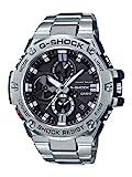 Casio'G-Shock' reloj de vestir de cuarzo, resina y acero inoxidable, color: tono plateado (modelo: GST-B100D-1ACR)
