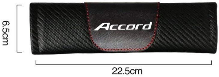 AUTO-P Customization Carbon Fiber Seat Belt Cover Shoulder Pad Cushion for Honda Accord 2 pcs