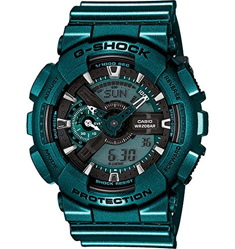 Casio G Shock Green Tone Digital GA110NM 3A