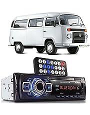 Auto Rádio Aparelho Som Automotivo Bluetooth Vw Kombi Pen Drive Sd Card Carro