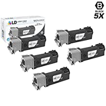 LD © Compatible Xerox 106R01597 Set of 5 High Yield Black Toner Cartridges for Xerox Phaser 6500 & WorkCentre 6505