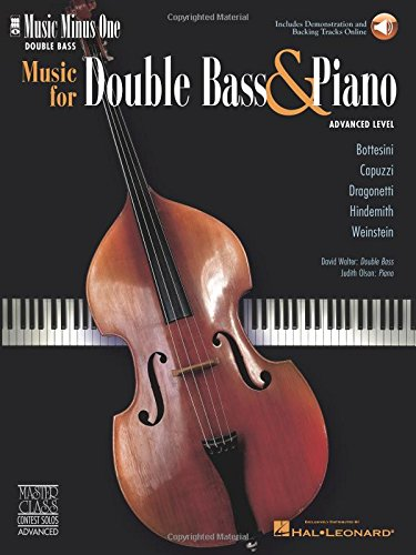 - Music for Double Bass & Piano - Advanced Level: Music Minus One Double Bass
