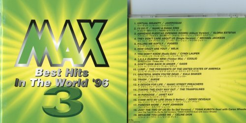 Max 3 Best Hits in the World '96