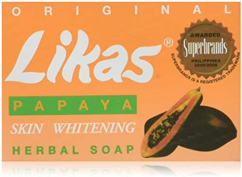 Likas Papaya Skin Whitening Herbal Soap