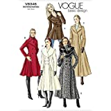 Vogue Patterns v8346 Taille FW 18–20–22 Patron de manteau