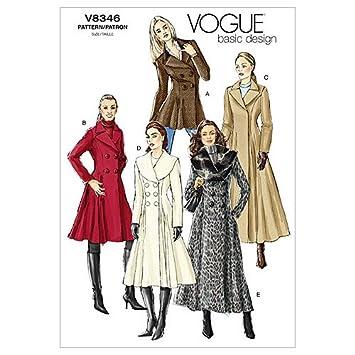 Vogue V8346 VGE D(12-16) Schnittmuster zum Nähen, Elegant ...