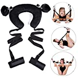 Erhverv Wrist & Ankle Cuffs Hand & Foot Cuffs Women Men Straps Tie Set Couple Pleaure Toy