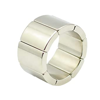"""CMS Magnetics®  4 pieces Super Strong Neodymium Magnets N52 7//8x1/"""""""