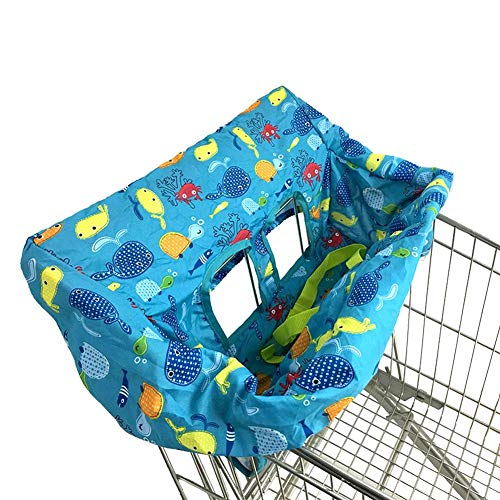 High Chair Cover Grocery Shopping Cart Baby Seat Cover Restaurant High Chair Insert Cushion Holder for Boys Girls Infants Toddler / High Chair Cover Grocery Shopping Cart Baby Seat Cover Restaurant High Chair Insert Cushion Holder ...