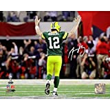 NFL Green Bay Packers Aaron Rodgers Signed 'Super