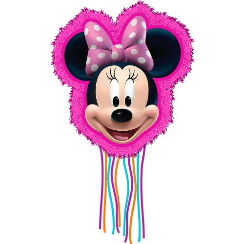 Hallmark Minnie Mouse Pull Ribbon String Pinata -