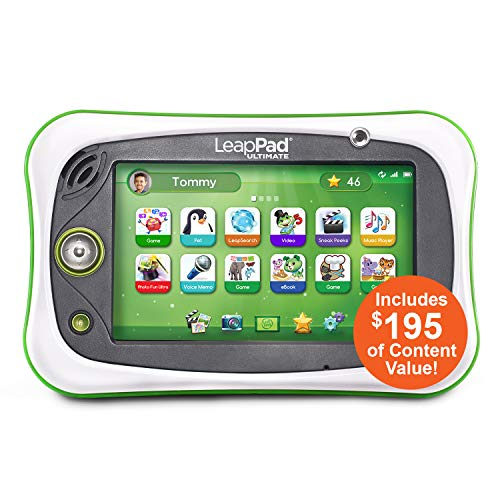 LeapFrog LeapPad Ultimate Ready for School Tablet, (Frustration Free Packaging), Green from LeapFrog