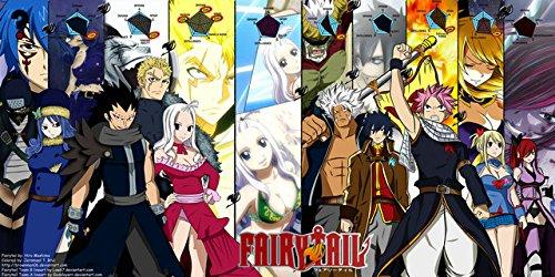 U Like Fairy Tail Japan Anime Silk Scroll Poster Large Scrol