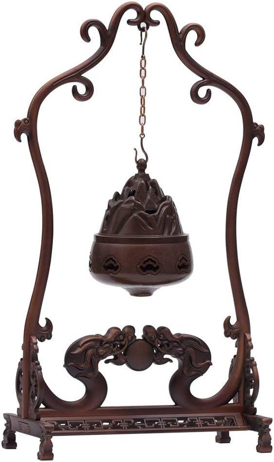 芳香器・アロマバーナー 純銅ハンギングリフロー香炉アロマボールデコレーションアンティーク香炉 アロマバーナー芳香器