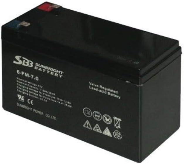 Batterie 12V 7A pour pulv/érisateur /à batterie IRIS GARDEN