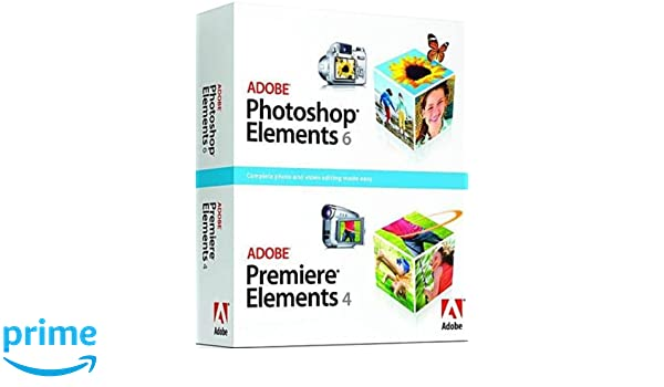 Amazon.com: Adobe Photoshop Elements 6 & Premiere Elements 4 ...