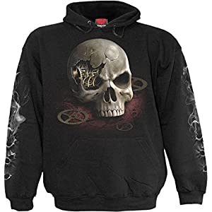 Spiral Boys – Steam Punk Bandit – Kids Hoody Black