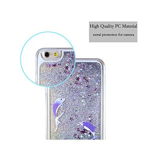 iPhone 6S Plus Hülle,weich Silikon Case Hülle für iPhone 6 6S Plus,EMAXELERS iPhone 6S Plus Hülle Transparent,iPhone 6S Plus Hülle Blumen,iPhone 6S Plus Hülle Clear,iPhone 6 Plus Hülle Blau Light Must Animal 7