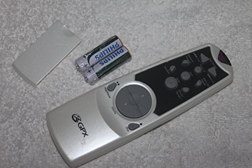 GPX Remote Control Model C980 CD Mini System Audio Y15 Tested With batteries- Sold By Buyeverythingguy