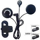 FreedConn Auriculares Para Casco Moto Intercom Talkie accesorio Clip y auriculares manos libres para el T