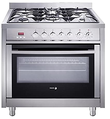 Amazon.com: Fagor RFA-365 DF Dual Fuel Range with Dual Convection, 5 ...