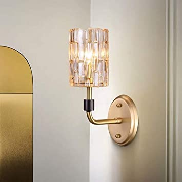 Mkjbd Linterna de Pared Lámpara de Jardín Lámpara de Pared Lámparas de Pared Lámparas de Cristal