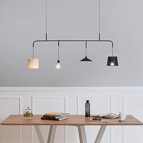 LLLKKK Lámpara colgante de diseño moderno para mesa de ...