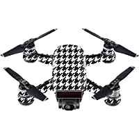 Skin For DJI Spark Mini – Houndstooth | MightySkins Protective, Durable, and Unique Vinyl Decal wrap cover | Easy To Apply, Remove, and Change Styles | Made in the USA