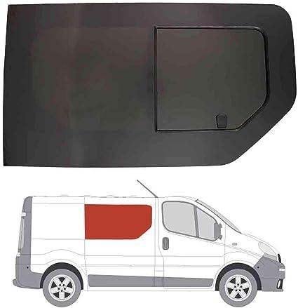 Mano derecha, tintado oscuro apertura ventana para Panel lateral OPP. Puerta Corredera Nissan Primastar: Amazon.es: Coche y moto