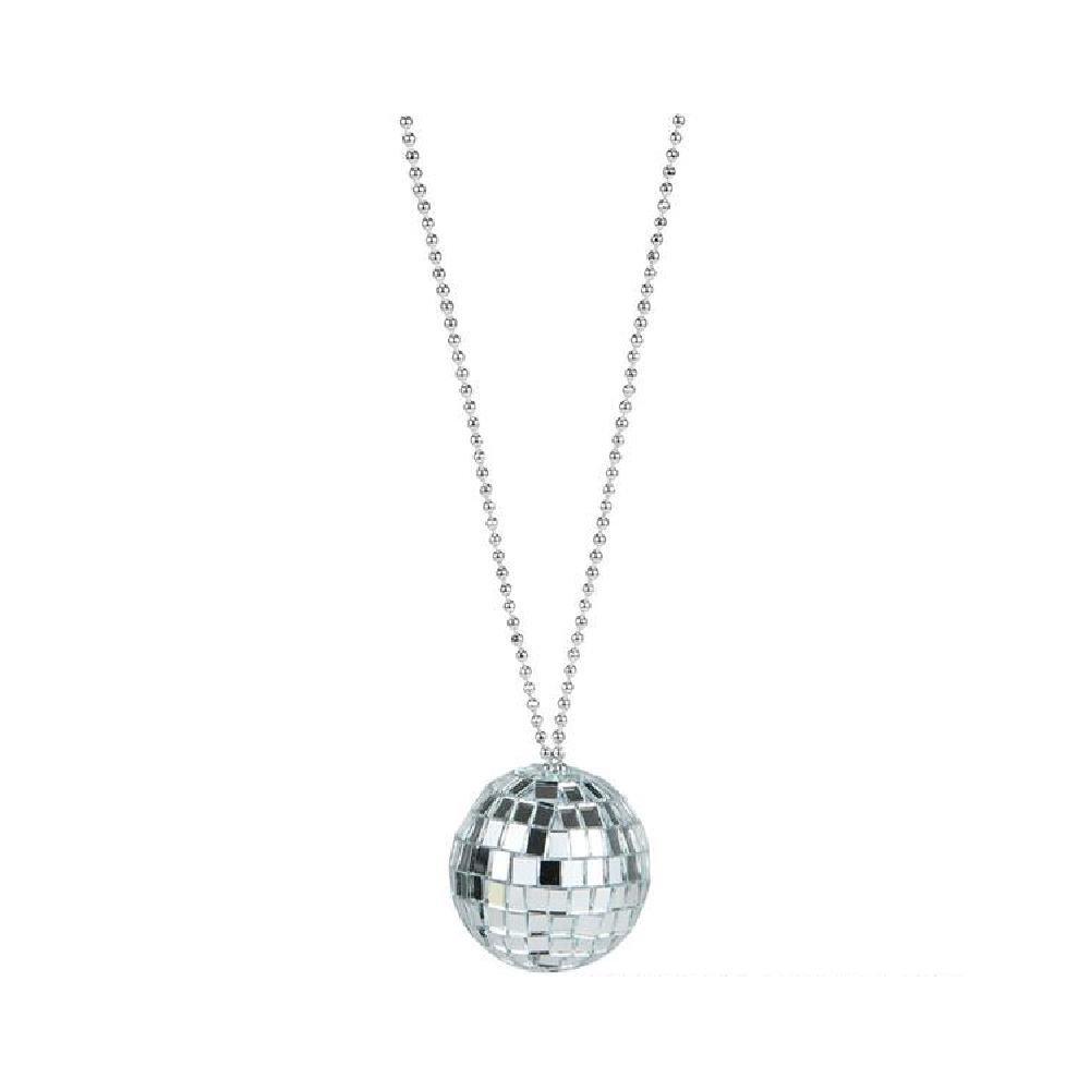 2'' Disco Ball Necklace