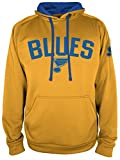 NHL St. Louis Blues National Hockey League Hooded Pullover, XX-Large, Yellow Gold