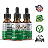 Hemp Oil for Dogs and Cats – Calming Hemp Oil for Pets 250mg Supplement + Coconut Oil + Hemp Seed Oil Omega-3&6 for Anxiety, Stress, Pain Relief and Joint Health – Organic – Easily Apply to Treats Review