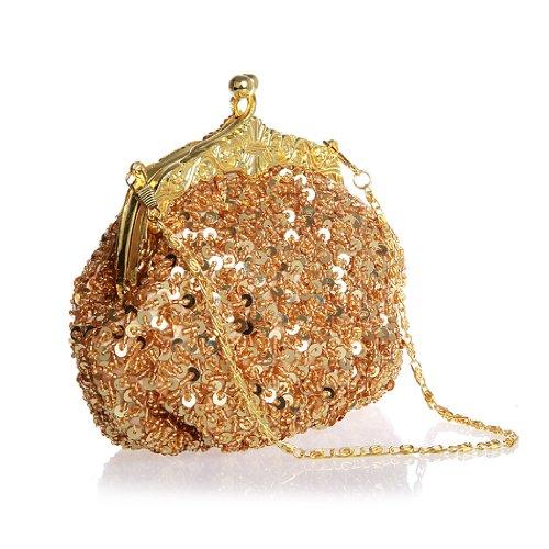 AYOZEN - Bolso al hombro para mujer dorado - dorado