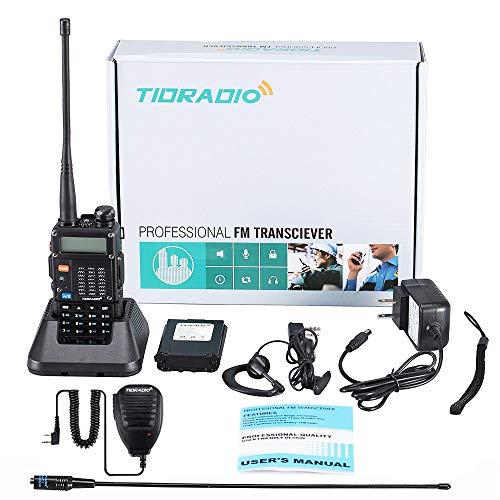 [해외구매대행 ] TIDRADIO 8Watt Ham Radio Handheld Upgraded Version of Baofeng  UV-5R Radio Uhf Vhf Radio 2 Way Radio High Power Dual Band Walkie Talkies