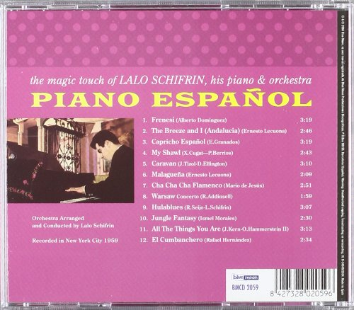 Piano Español The Magic Touch of Lalo Schifrin His Piano & Orchestra by Blue Moon