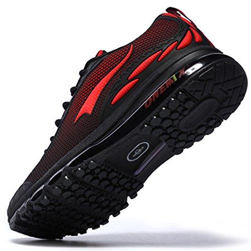 Onemix-Mens-Lightweight-Air-Cushion-Sport-Running-Shoes-Black-Red-11