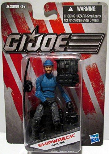 G.I. Joe Exclusive Action Figure, Shipwreck Sailor, Blue Outfit -