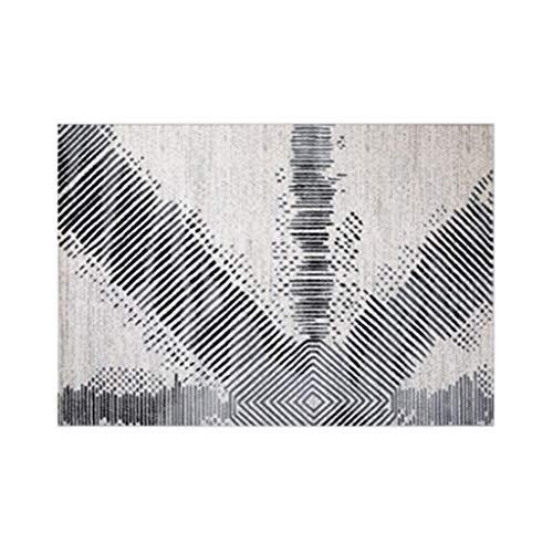 - Czlsd Rectangle Rug - Multifunctional Carpet - Super Soft - Bedroom/Living Room/Bedside - Non-Slip Floor Mat - 12mm Thick (Color : Spectrum, Size : 140cmX200cm)