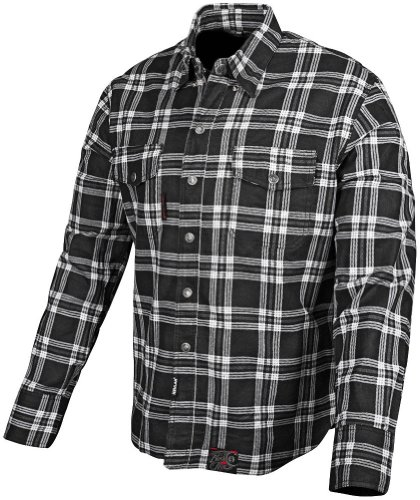 Speed and Strength Black Nine Men's Reinforced Moto Shirt (Black, X-Large)