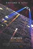 "Star Trek: First Contact - Authentic Original 27"" x 40"" Movie Poster"