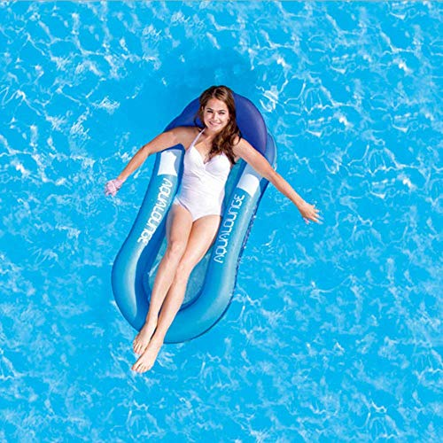 Inflatable sofa Recliner Lounge Swimming Pool Float for Kids and Adults