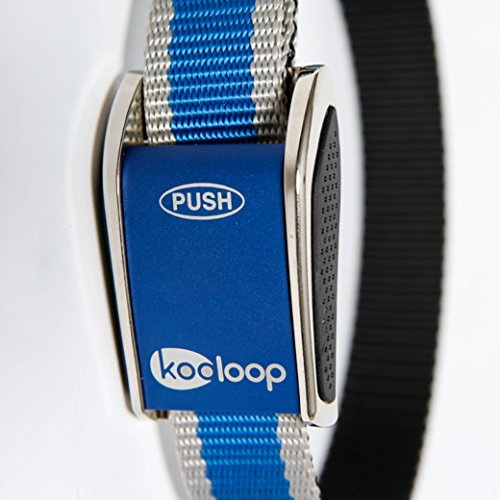 Kooloop Med to Ex-Large Heavy Duty Polyester Dog Collar, (Heavy Duty Lightweight Instant Steel)