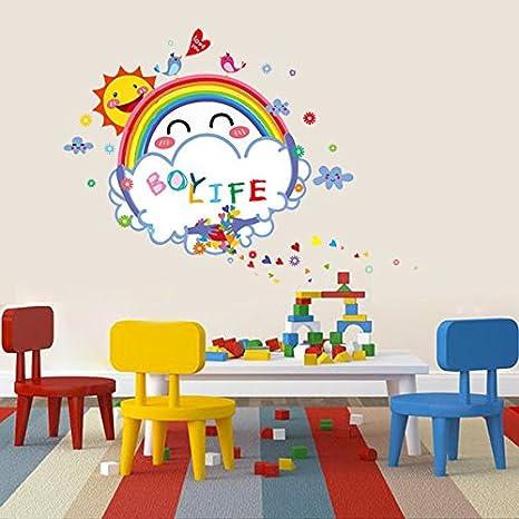 Bazaar Niños lindos decoración de la habitación sol sonrisa ...