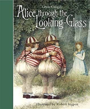 book cover of Through the Looking Glass and What Alice Found There