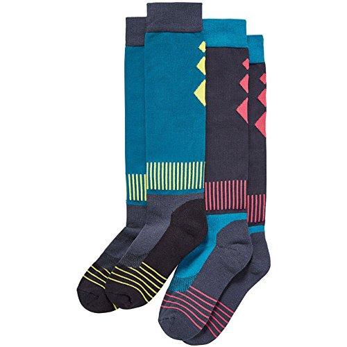 Harry Hall Womens Tech 2 Pack Riding Socks Dark Grey wjIvWy2
